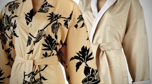 Custom Print Luxury Bathrobes
