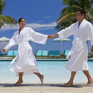 best bathrobe for carribean spa