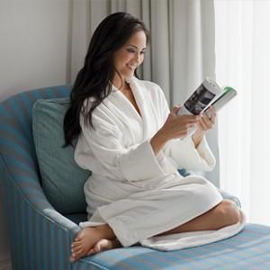 organic bathrobes for luxury hotels