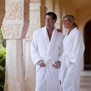 microterry bathrobes vs. terry bathrobes