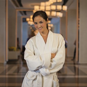 Plush Robes Are A Comfortable Addition To Luxury Hotel Rooms