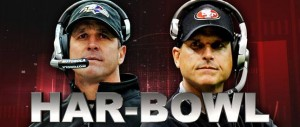 The 2013 Har-Bowl - Superbowl 2013 Harbaugh Brothers Match Up