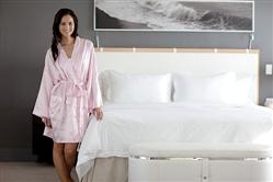 pink-satin-kimono-bathrobe by Boca Terry