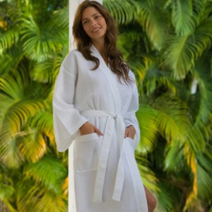Wholesale Organic Cotton Spa Robes