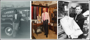Lansky Brothers Clothier to The King