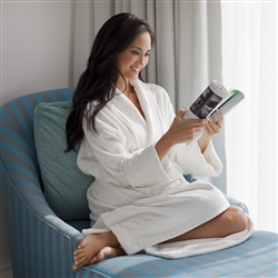 Plush Terry Cloth Bathrobes Have Never Looked Better