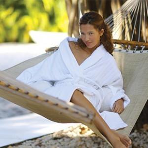 Wholesale Velour Stripe Bathrobe: Elegant, Silky and Warm