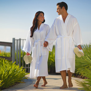 Evening Bathrobes for Men and Women