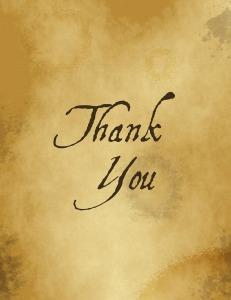 Boca Terry: Giving Thanks