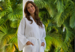 Certified Organic Bathrobes for Your Eco Friendly Company