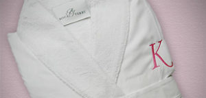 Embroidered Bathrobes for Brides and Bridesmaids