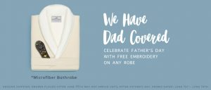 luxury microfiber bathrobes for father's day boca terry